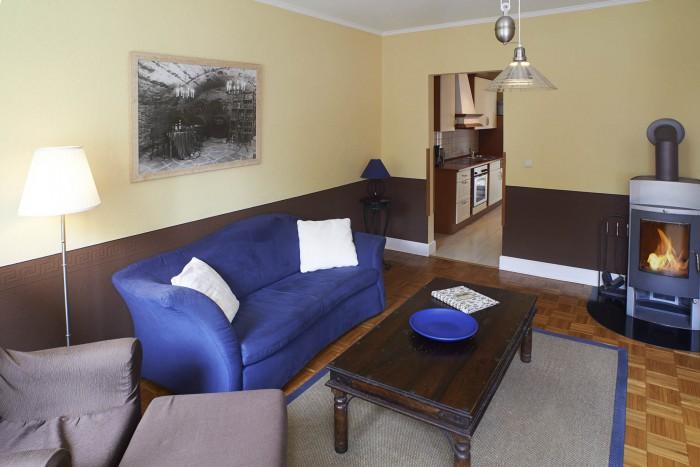 Das ist das Wohnzimmer der Ferienwohnung Elzhofberg